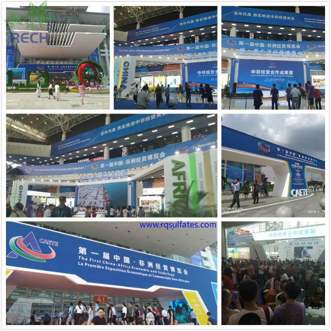 銳啟化工預祝第一屆中非經貿博覽會在湖南省長沙市圓滿舉辦成功